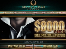 Grand Parker Casino, Best Online Casino December 2013 screenshot # 5