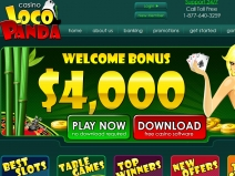 Loco Panda, Best Online Casino Codes August 2018 screenshot # 1