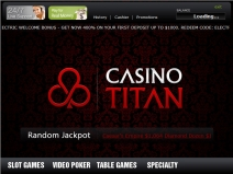 Casino Titan, USA Online Casino Bonus Codes January 2018 screenshot # 1