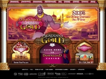 Aladdin's Gold Casino Bonus December 2013 screenshot # 4
