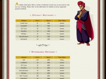Aladdin's Gold Casino Bonus July 2014 screenshot # 1