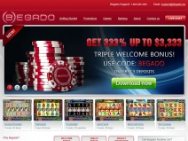 Begado Online Casino Bonuses October 2018 screenshot # 2