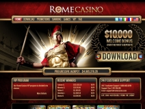 Rome Casino Bonus Codes, USA Casino Bonuses July 2014 screenshot # 3