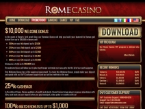 Rome Casino Bonus Codes, USA Casino Bonuses October 2014 screenshot # 2