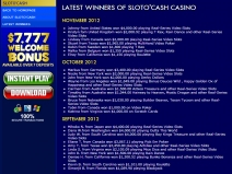 SlotoCash, Online Bonus Casinos December 2013 screenshot # 7
