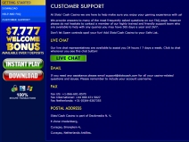 SlotoCash, Online Bonus Casinos July 2014 screenshot # 1