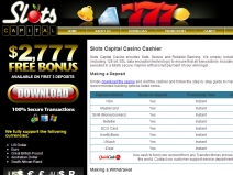 Slots Capital, Best Slots Casinos April 2014 screenshot # 1