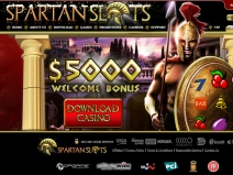 Spartan Slots, High Rated Online Casinos April 2021 screenshot # 2