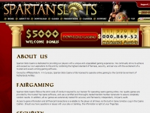 Spartan Slots, High Rated Online Casinos April 2021 screenshot # 6