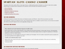 Spartan Slots, High Rated Online Casinos September 2019 screenshot # 1
