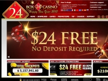 Box24, Prestige Online Casinos December 2018 screenshot # 2