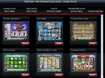 Ruby Royal Casino - New Online Casinos 2013 screenshot # 3