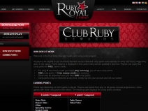 Ruby Royal Casino - New Online Casinos 2013 screenshot # 4